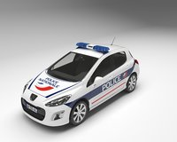 Police Peugeot 308