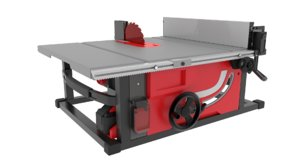 3D table saw model