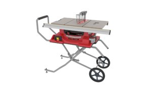 3D portable table saw
