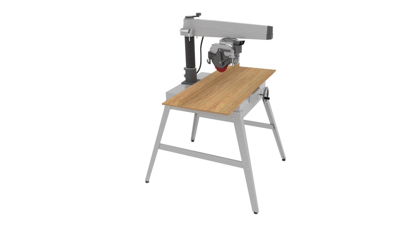radial arm saw model