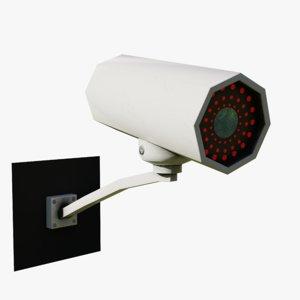 cctv camera - 3D model