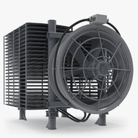 Industrial Radiator with Fan