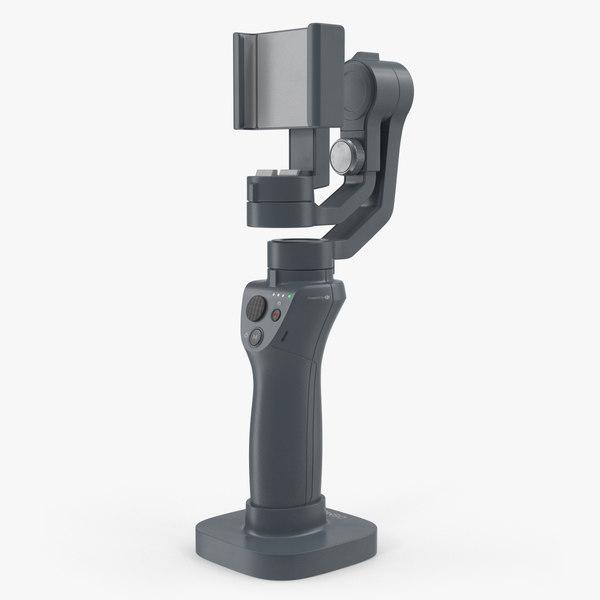 3D stabilizer mobile phone dji model