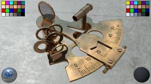 3D model sextant
