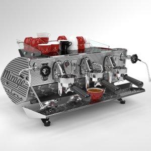 3D blender grouped kees van der model