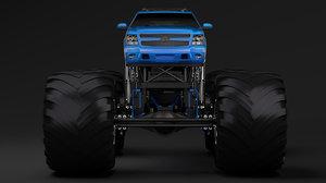 monster truck chevrolet suburban model