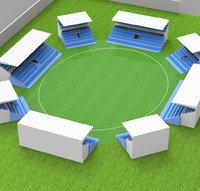 stadium of gallery