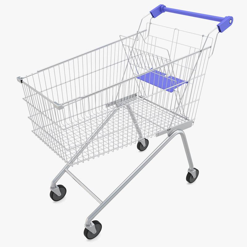 supermarket - 3D model