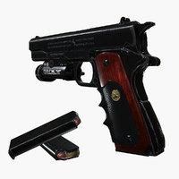 3D colt 1911 tactical