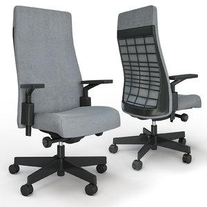 remix office chair 3D