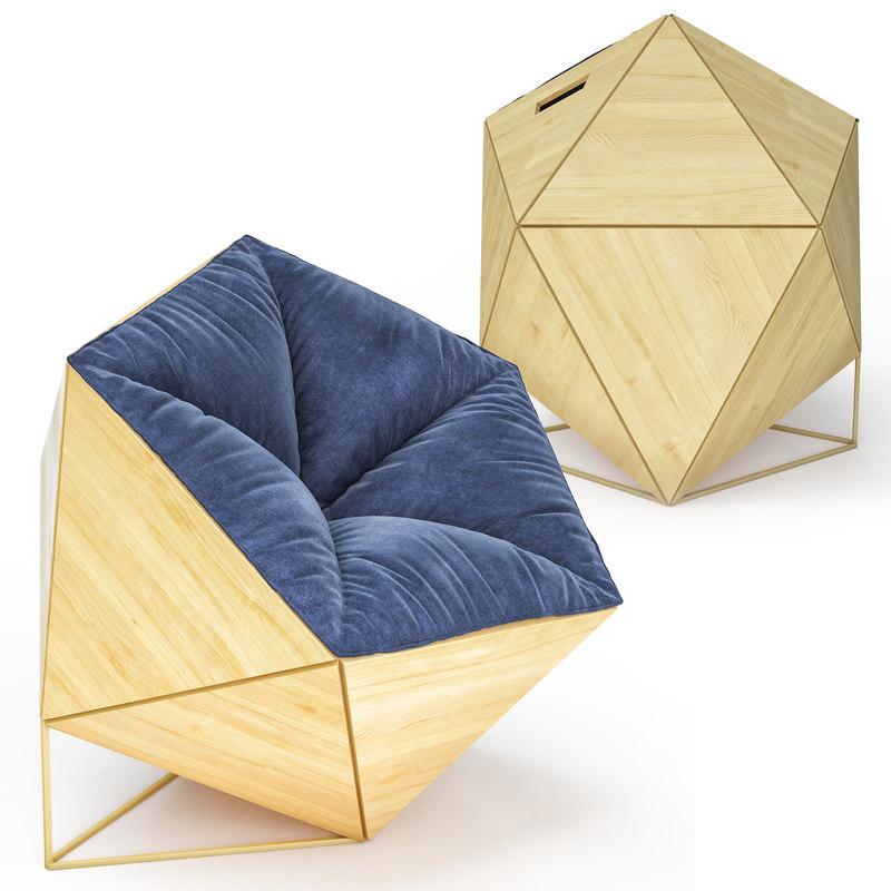 chair 2 3D model