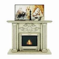 fireplace carmona 3D model