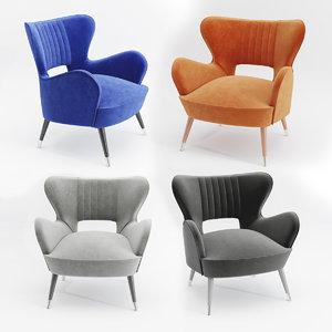 3D babe armchair munna