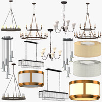 ceiling lights 3D