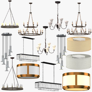 ceiling lights 3D
