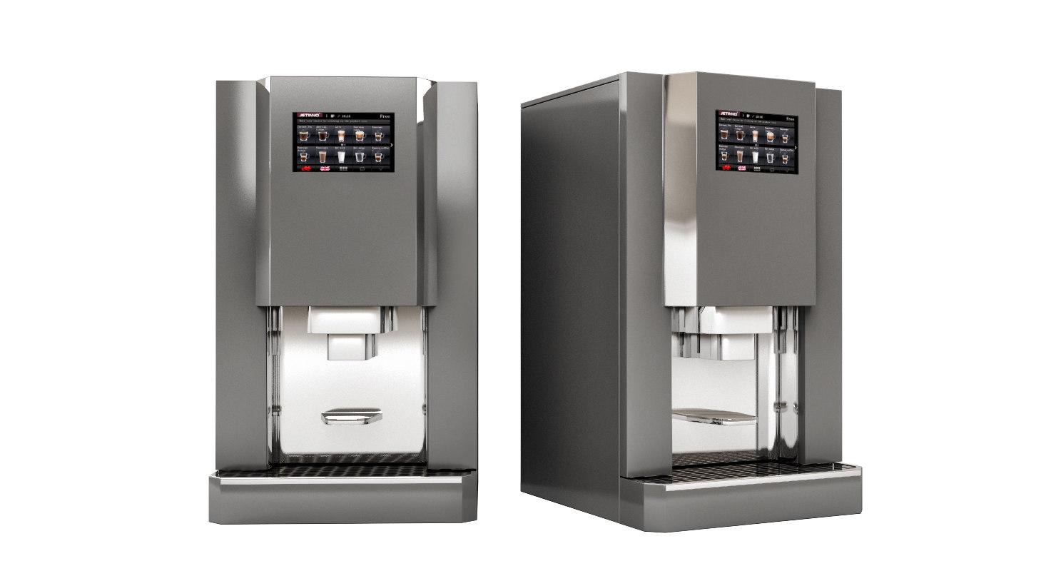 3D jetinno automatic espresso model