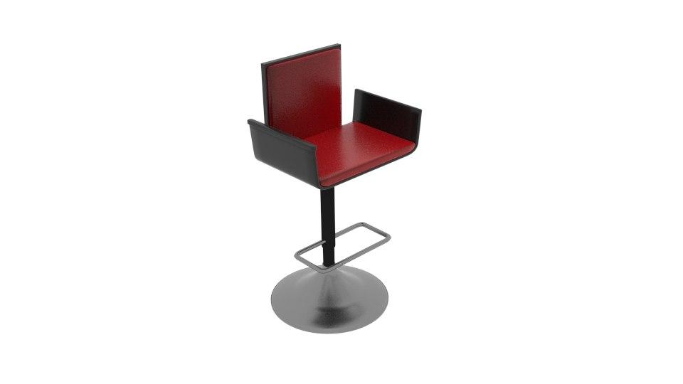 3D padet stool