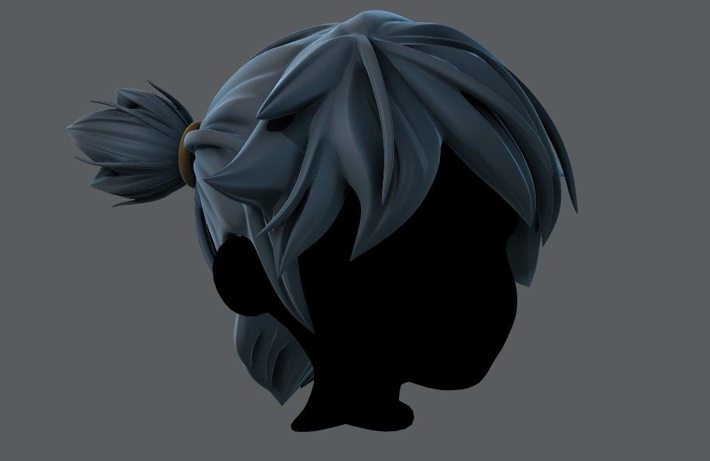 3D hair style boy v26