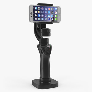 3 axis gimbal stabilizer 3D model