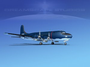 3D propellers douglas r5d model