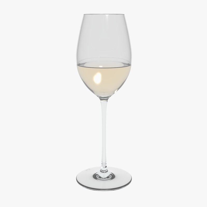 glass riedel superleggero loire 3D model