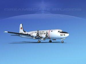 3D model propellers douglas r5d