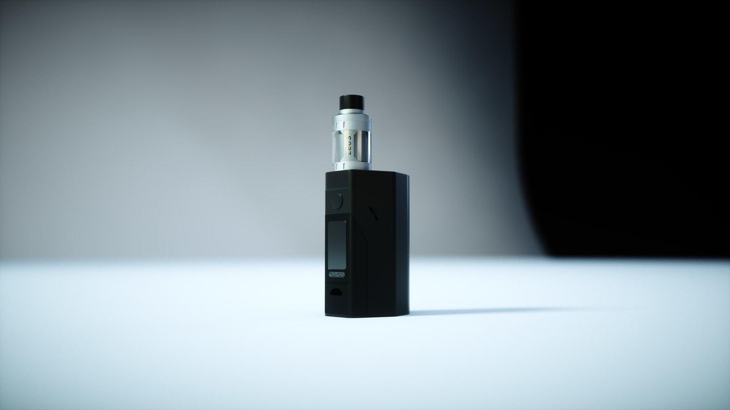 Electronic cigarette e 3D model - TurboSquid 1307619