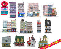 Building/Houses set/Pack