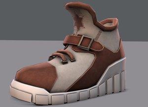3D shoes cartoonv10 character cartoon