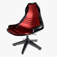 organic chair 3D model
