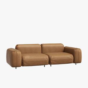 sofa interior 3D