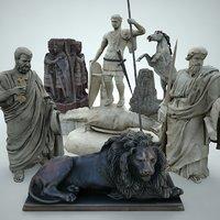 statues lods model