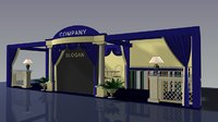 3D expo exhibition stand