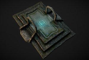 center dungeon model