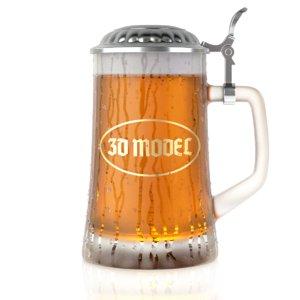 3D beer cap mug
