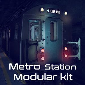 package metro station model