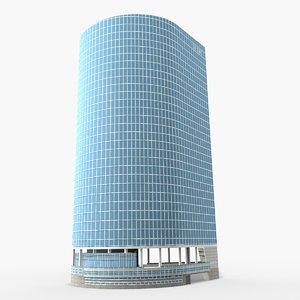 3D dexia tower paris