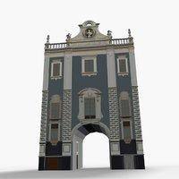 3D porta uzeda model