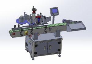 labeling machine 3D