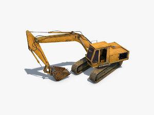 excavator 3D