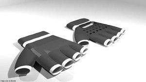 3D fitness glove