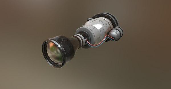 3D s scope model