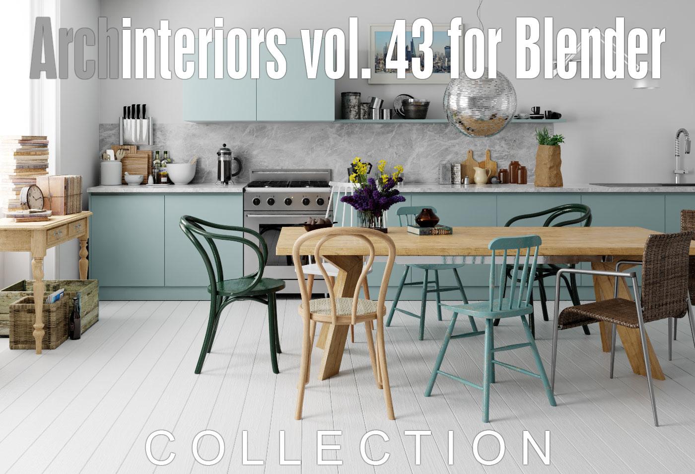 archinteriors vol 43 blender model