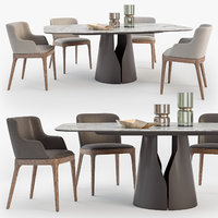 3D cattelan italia giano table