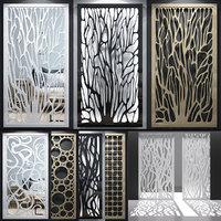 screen decorative model