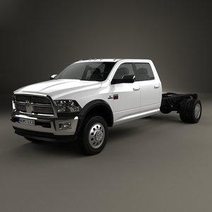 3D dodge ram 2012 model