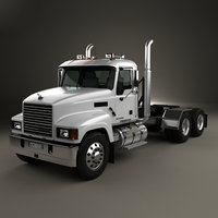 mack pinnacle tractor 3D model