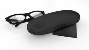 3D glasses case