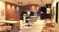 interior coffee bar 3D