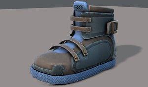 shoes cartoonv11 character cartoon 3D model